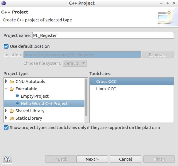 EclipseCrossProject
