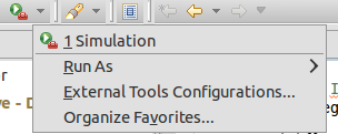 """""""Toolbar"""" Eintrag zu den """"External Tools"""""""